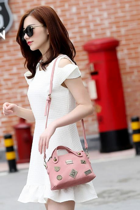 Retro Fashion Handbags Shoulder Messenger Bag For Women